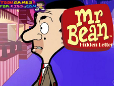 Mr Bean Hidden Letters