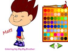 My Big Big Friends Coloring