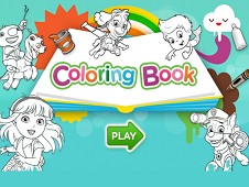 NICK JR COLORING BOOK - NICKELODEON GAMES