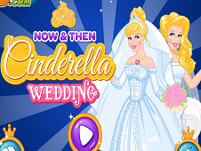 Now and Then Cinderella Wedding