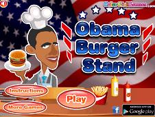 Obama Burger Stand 2