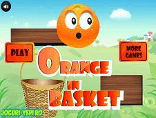 Orange In Basket