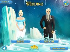 Perfect Wedding Elsa and Jack
