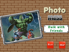 Photo Mess Hulk With Friends