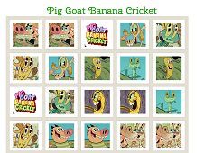 Pig Goat Banana Cricket Memory