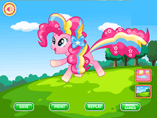 Pinkie Pie Rainbow Power