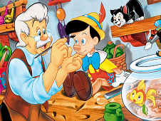 Pinocchio Online Coloring