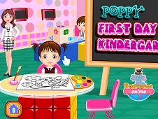 Poppy First Day In Kindergarten