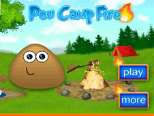 Pou Camp Fire