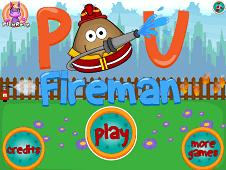 Pou Fireman