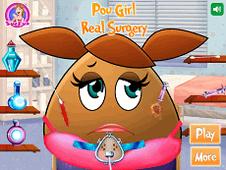 Pou Girl Real Surgery