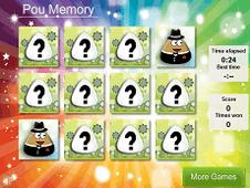 Pou Memory Cards