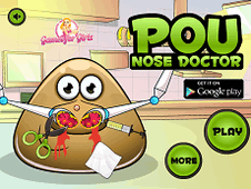Pou Nose Problems