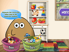 Pou Washing Toys
