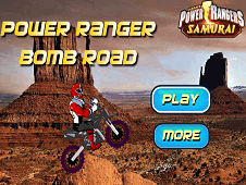 Power Ranger Bom Road