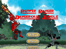 Power Ranger Dangerous Jungle