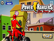 Power Rangers Dino Racing Atv