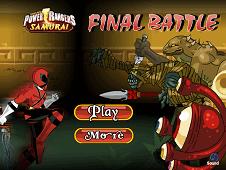 Power Rangers Final Battle