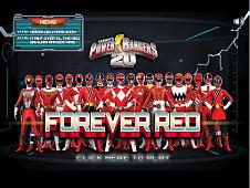 Power Rangers Forever Red