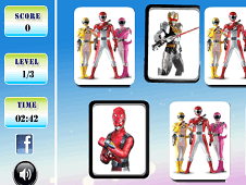 Power Rangers Memory