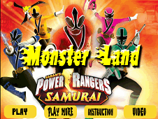 Power Rangers Monster Land
