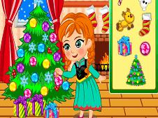 Princess Anna Christmas Slacking