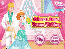 Princess Anna Frozen Wedding