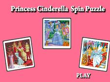 Princess Cinderella Spin Puzzle