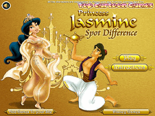 Princess Jasmin Spot Difference