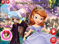 Princess Sofia And Cedric Love Potion