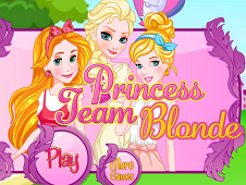 Princess Team Blonde