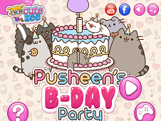 Pusheens Birthday Party