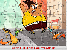Puzzle Get Blake Squirrel Attack