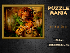 Puzzle Mania Ice Age Gang