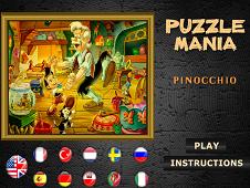 Puzzle Mania Pinocchio