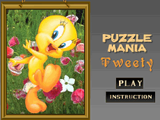Puzzle Mania Tweety