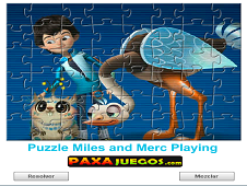 Puzzle Miles And Merc Playing