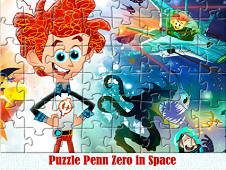 Puzzle Penn Zero in Space