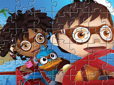 Puzzle Zack and Friends Flying