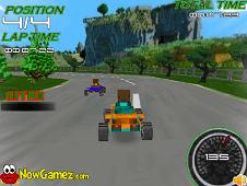 Racing Minecraft