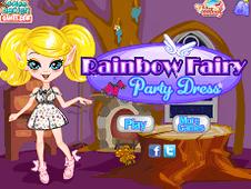 Rainbow Fairi Party Dress