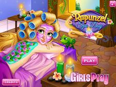 Rapunzel Spa Day