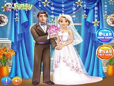 Rapunzel and Flynn Wedding