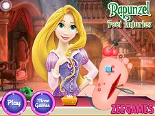 Rapunzel foot injuries