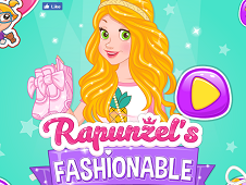 Rapunzels Fashionable Sneakers
