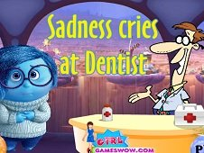 Sadness Cries at Dentist