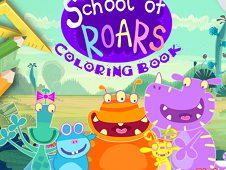 School of Roars Coloring Book
