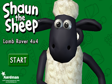 Shaun The Sheep Lamb Rover 4x4