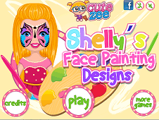 Shellys Face Painting Designs