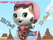 Sheriff Callie Maths Test